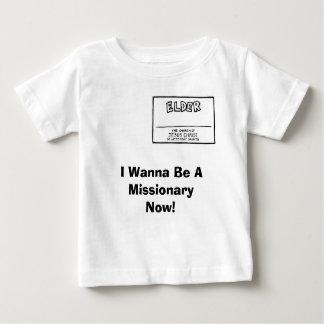 私はMissionaryNowでありたいと思います! ベビーTシャツ