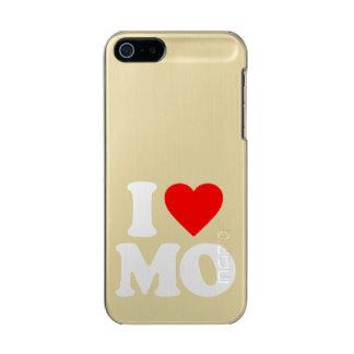 私はMOを愛します メタリックiPhone SE/5/5sケース