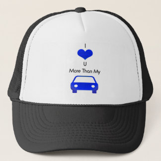 私はMoboによって青の私の車よりもっと愛します キャップ