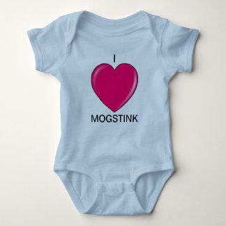私はMogstinkのonesey-のサイズ12 mosをlove ベビーボディスーツ