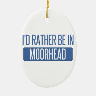 私はMoorheadにむしろいます セラミックオーナメント