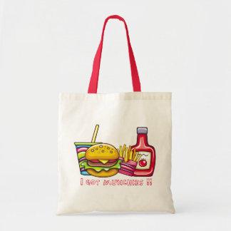 私はmunchiesのバッグを得ました トートバッグ