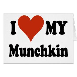 私はMunchkinの私の商品を愛します カード