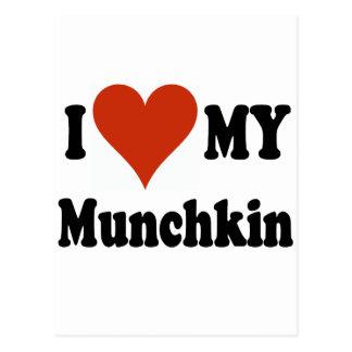 私はMunchkinの私の商品を愛します ポストカード