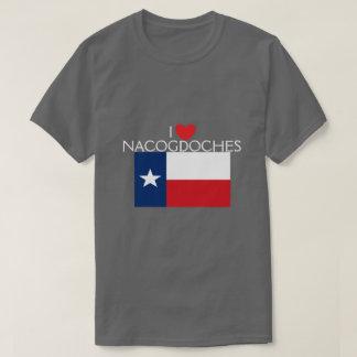 私はNacogdoches、テキサス州を愛します Tシャツ
