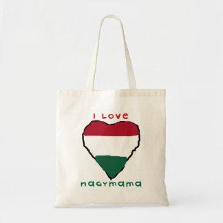 私はNagymamaのバッグを愛します トートバッグ