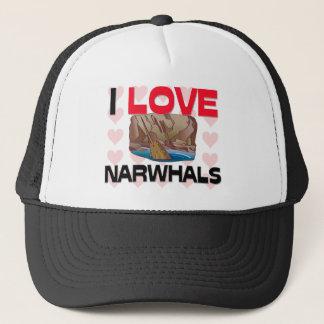 私はNarwhalsを愛します キャップ