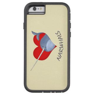 私はNarwhalsを愛します Tough Xtreme iPhone 6 ケース