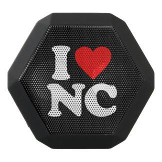 私はNCを愛します ブラックBluetoothスピーカー