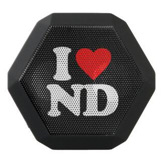 私はNDを愛します ブラックBluetoothスピーカー