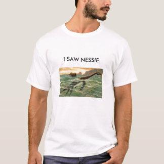 私はNESSIEを見ました Tシャツ