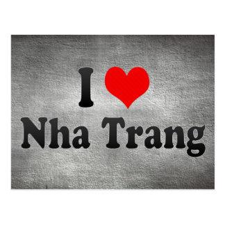 私はNha Trang、ベトナムを愛します ポストカード