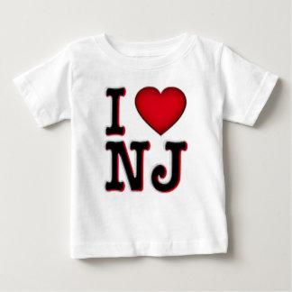 私はNJの服装及び商品を愛します ベビーTシャツ