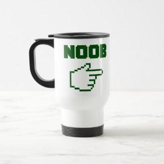 私はNoobの新参者とあります トラベルマグ