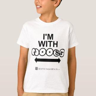 私はNoobsとあります Tシャツ