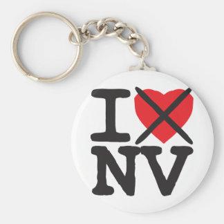 私はNV -ネバダ--を憎みます キーホルダー