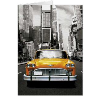 私はNYC -ニューヨークのタクシー--を愛します カード