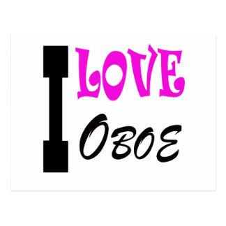 私はOboeを愛します ポストカード