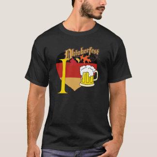 私はOctoberfestのTシャツを愛します Tシャツ