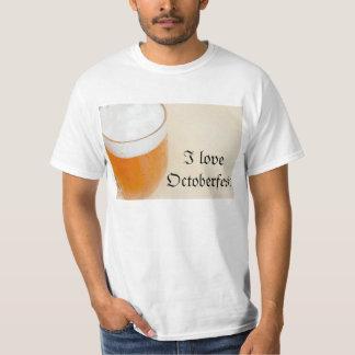 私はOctoberfestを愛します Tシャツ