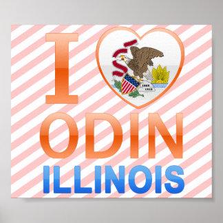 私はOdin、ILを愛します ポスター