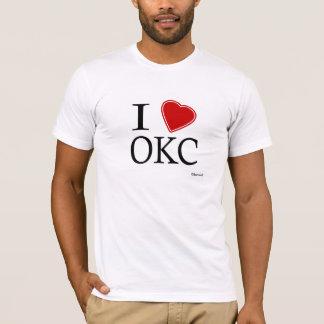 私はOKCを愛します Tシャツ
