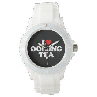 私はOOLONGの茶を愛します 腕時計