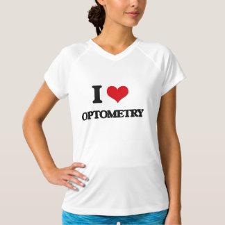 私はOptometryを愛します Tシャツ