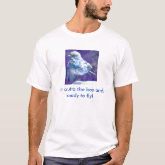 私はoutta箱、飛ぶために用意します! tシャツ