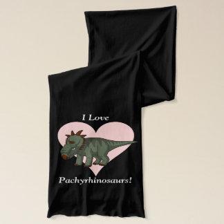 私はPachyrhinosaursを愛します! スカーフ