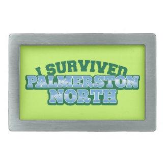 私はPALMERSTONを北に生き延びました 長方形ベルトバックル