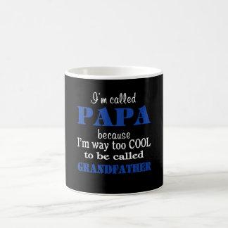 私はPAPAと電話されます コーヒーマグカップ