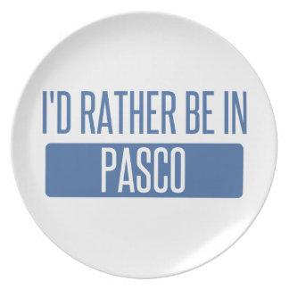 私はPascoにむしろいます プレート