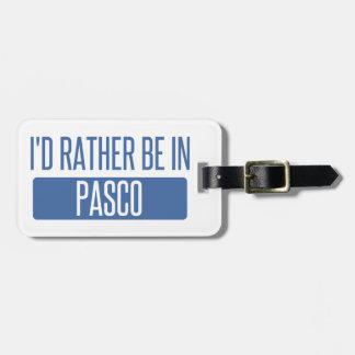 私はPascoにむしろいます ラゲッジタグ