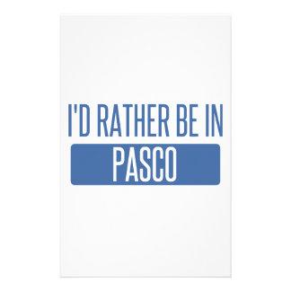 私はPascoにむしろいます 便箋