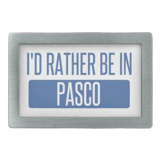 私はPascoにむしろいます 長方形ベルトバックル