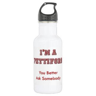 私はPettifordの金属の水差しです ウォーターボトル