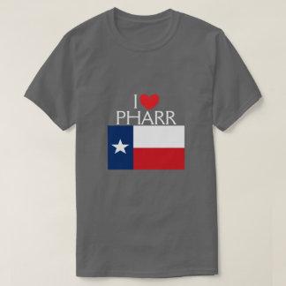 私はPharr、テキサス州を愛します Tシャツ