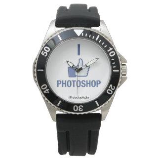 私はPhotoshopを好みます 腕時計