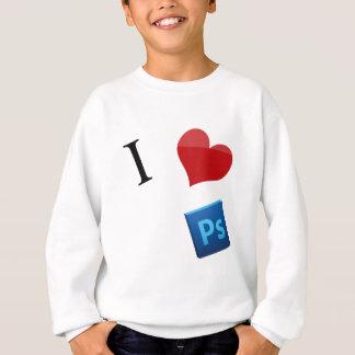 私はPhotoshopを愛します スウェットシャツ