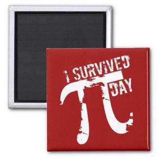 私はPi日-おもしろいなPi日--を生き延びました マグネット
