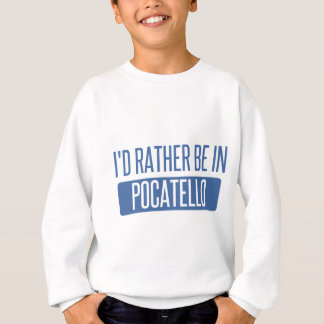 私はPocatelloにむしろいます スウェットシャツ