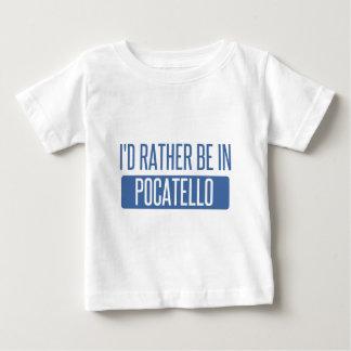 私はPocatelloにむしろいます ベビーTシャツ