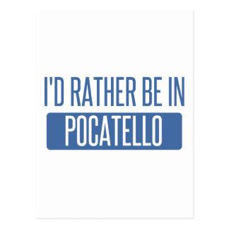 私はPocatelloにむしろいます ポストカード