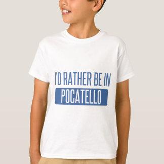 私はPocatelloにむしろいます Tシャツ