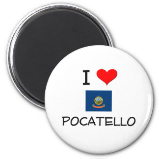私はPOCATELLOアイダホを愛します マグネット