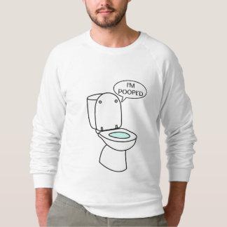 私はPoopedです スウェットシャツ