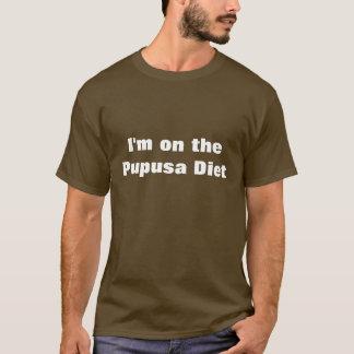 私はPupusaのダイエットにあります Tシャツ