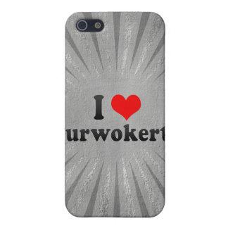 私はPurwokerto、インドネシアを愛します iPhone 5 Case