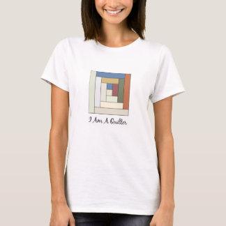 私はQuilterです Tシャツ